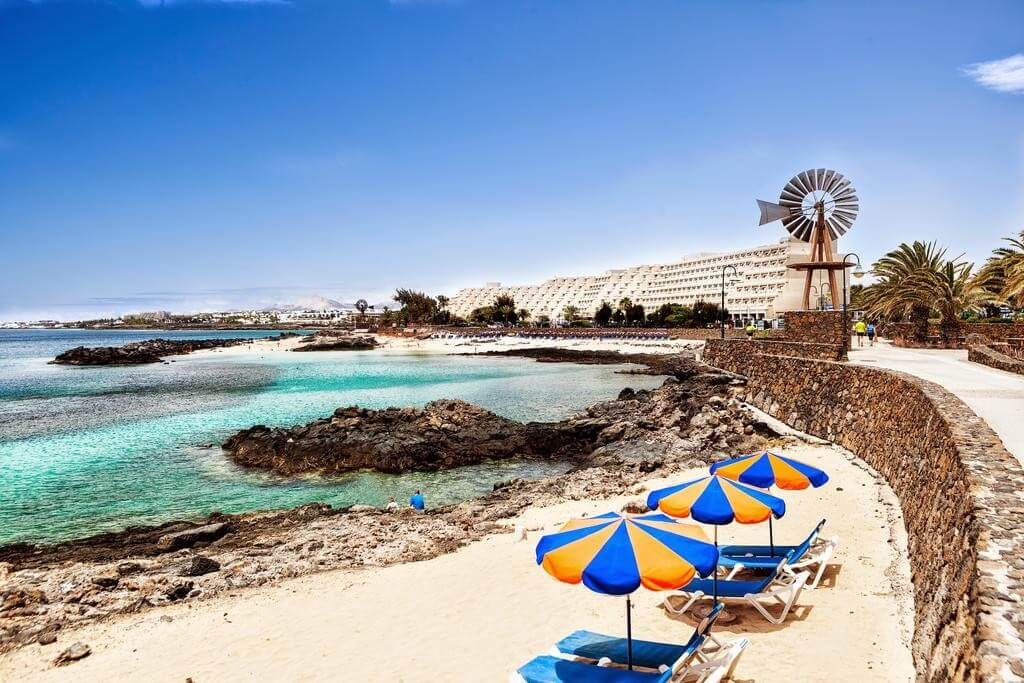 üdülés, Lanzarote, Costa Teguise, Gran Teguise Playa, 1