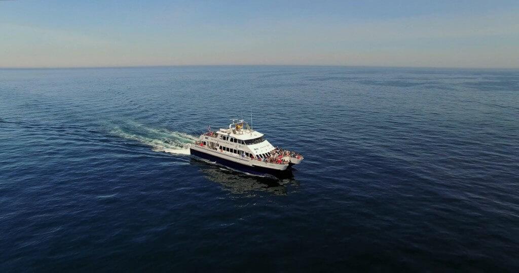 nyaralás, Gran Canaria, Programok magyarul, Hajókirándulás és Delfinles üvegfenekű Hajóval, 2
