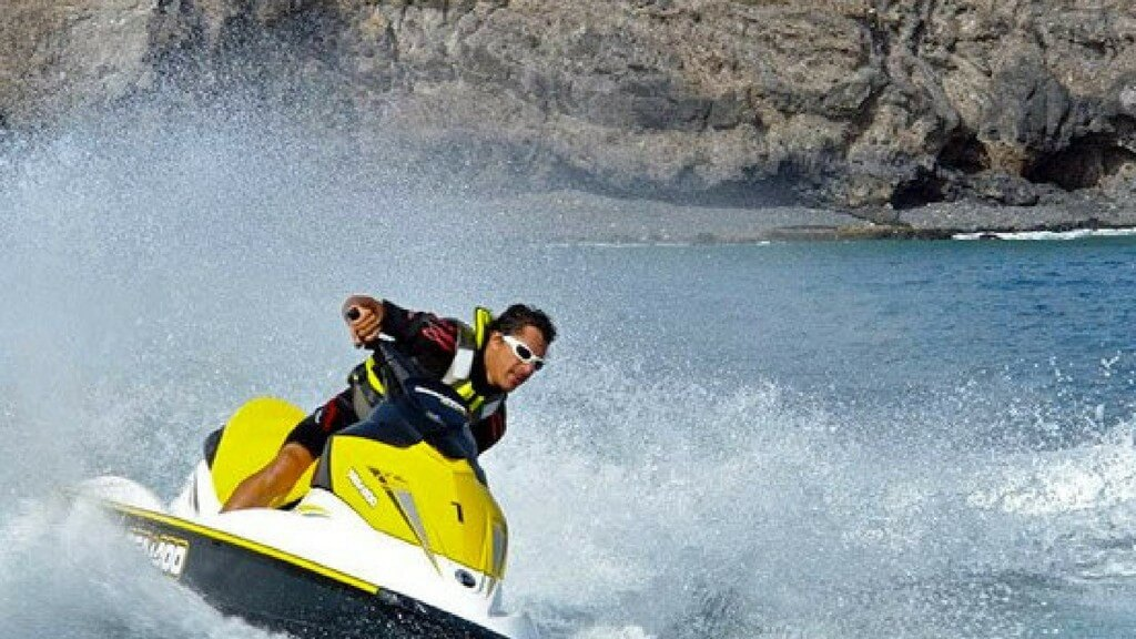 kanári nyaralás, Fuerteventura, Programok magyarul, Jetski Safari Costa Calma, 3