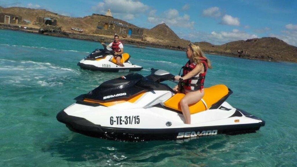 nyaralás olcsón, Fuerteventura, Programok magyarul, Jetski Safari Costa Calma, 2