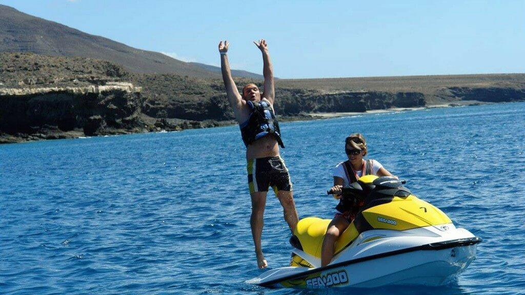 üdülés, Fuerteventura, Programok magyarul, Jetski Safari Costa Calma, 1