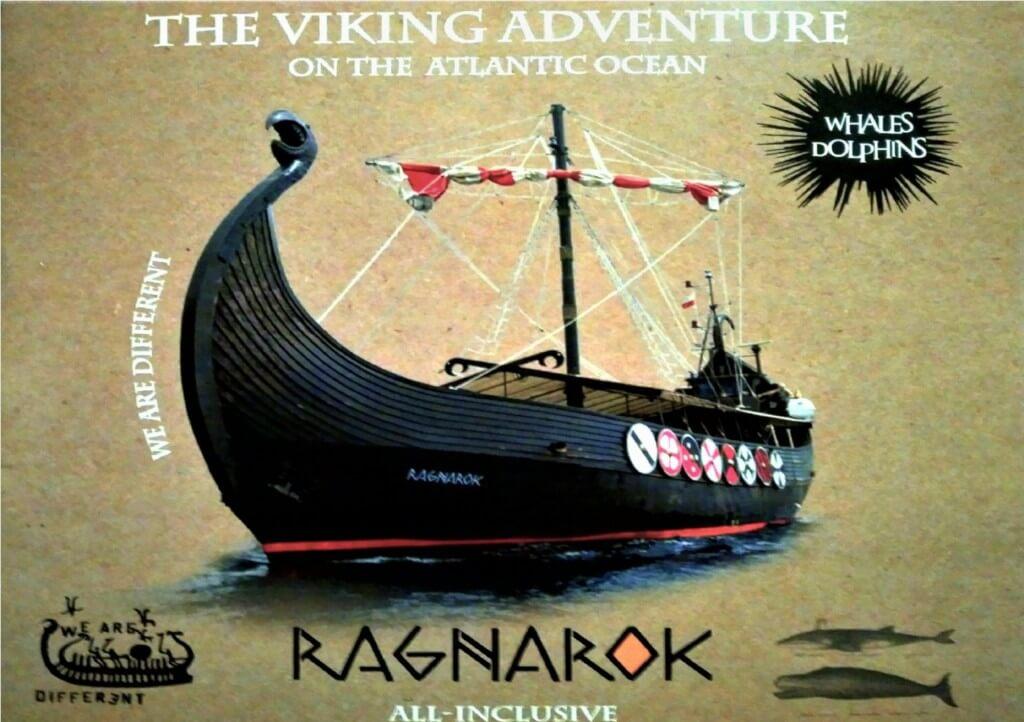 utazási iroda, Tenerife, Programok magyarul, Ragnarok Viking Hajó Bálna- és Delfinles, 1