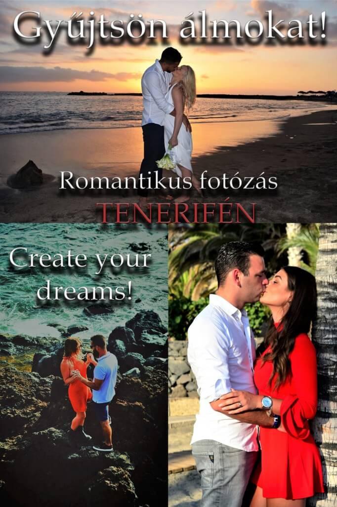 nyaralás olcsón, Tenerife, Programok magyarul, Tenerife Tengerparti Fotózás: Gyűjtsön álmokat!, 1