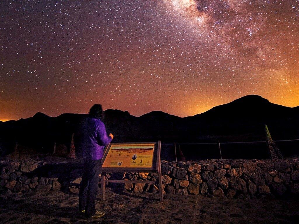 utazási iroda, Tenerife, Programok magyarul, Naplemente és Csillagles A Teidén, 7