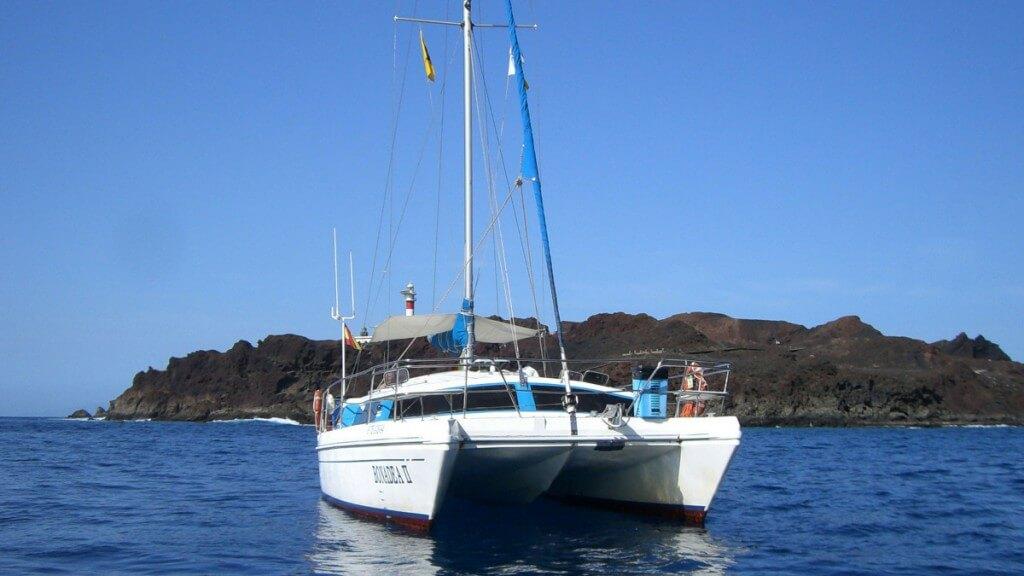 kanári nyaralás, Tenerife, Programok magyarul, Hajókirándulás és Bálnales Katamaránnal, 6
