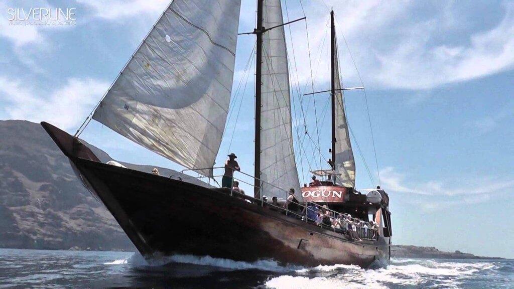 nyaralás olcsón, Tenerife, Programok magyarul, Hajókirándulás és Bálnales Vitorlással, 8