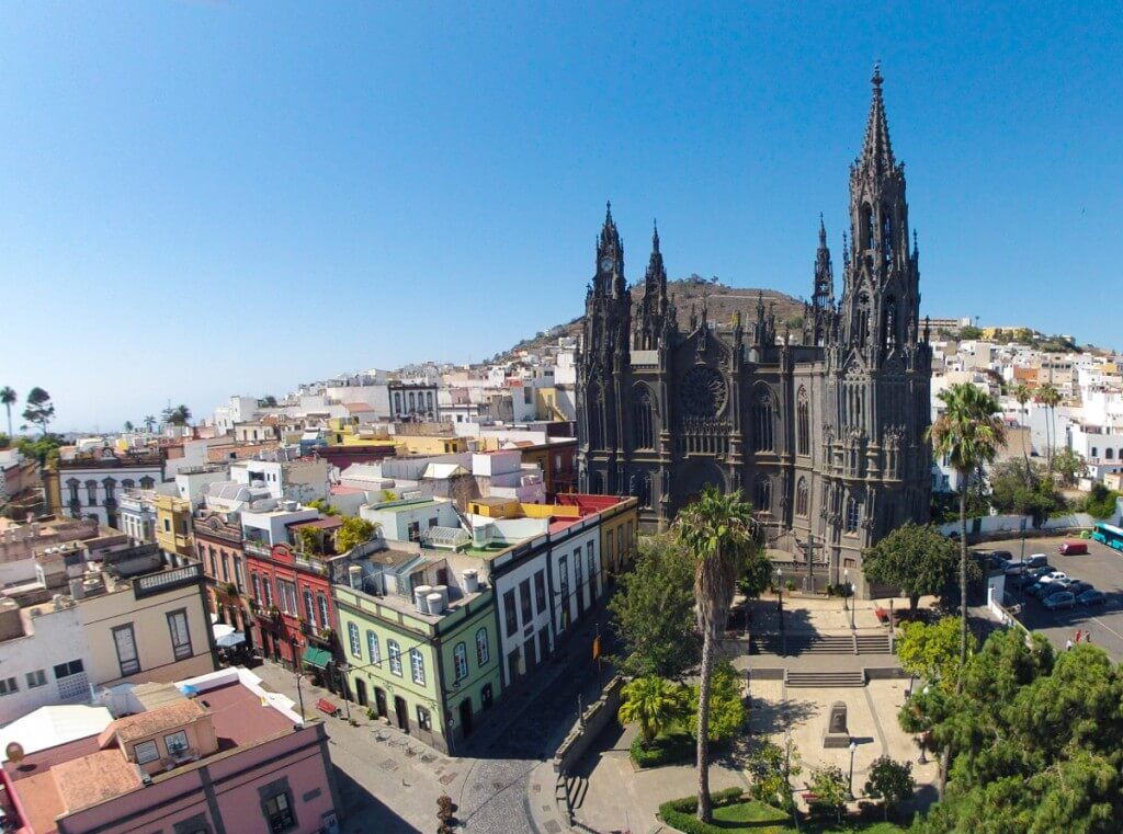 nyaralás all inclusive, Gran Canaria, Programok magyarul, Las Palmas Városnézés Magyar Idegenvezetéssel, 1