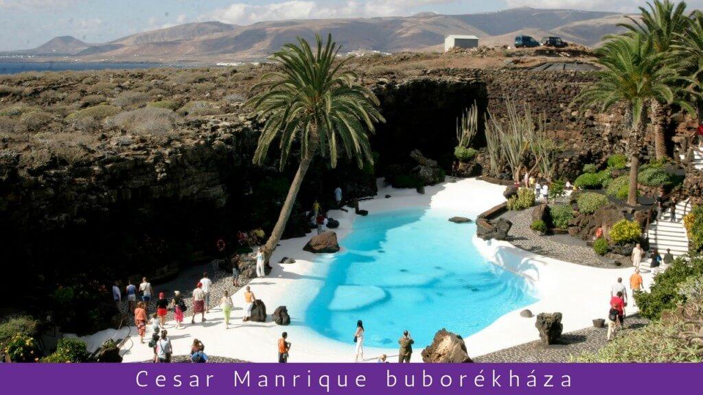 utazás repülővel, Lanzarote, Programok magyarul, Lanzarote Exkluzív Fél Napos Kirándulás: Cesar Manrique Alkotásai, 0