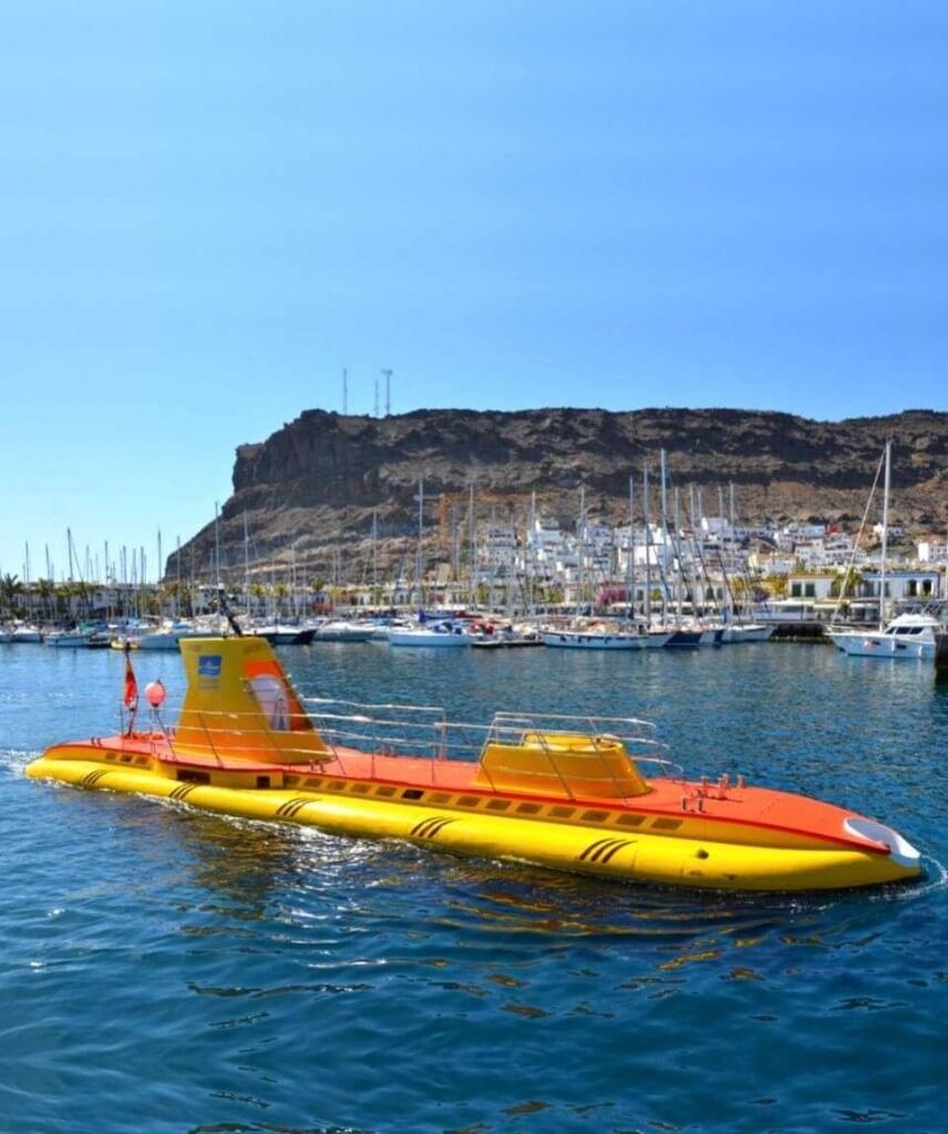 utak, Gran Canaria, Programok magyarul, Tengeri élővilág Megfigyelése Tengeralattjáróval, 7