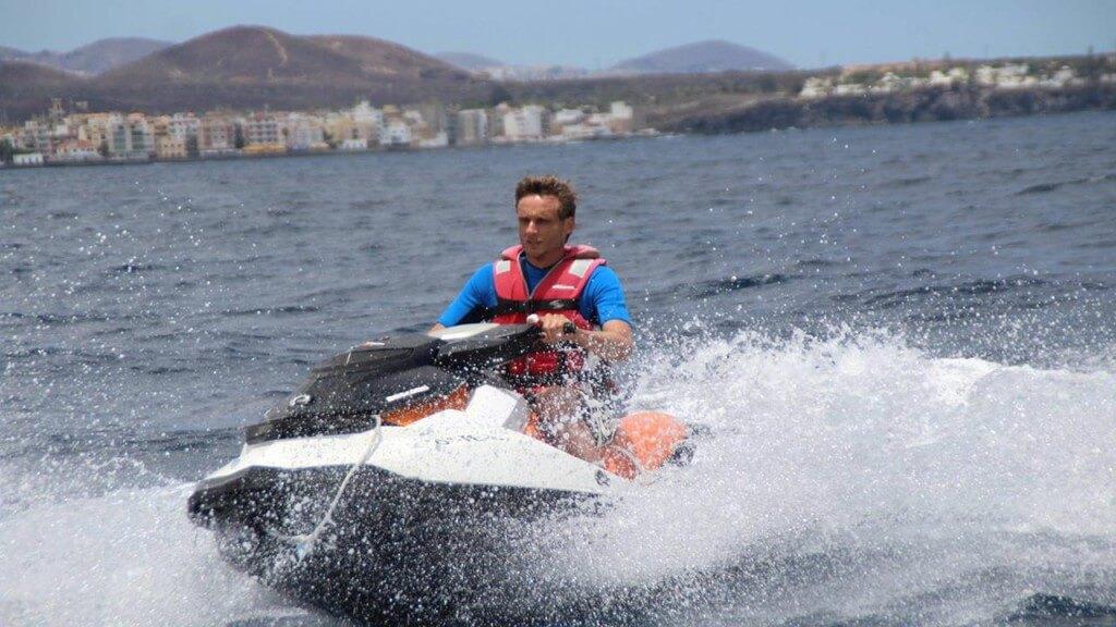 üdülés, Tenerife, Programok magyarul, Jetski Safari, 5