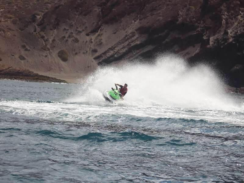 utazási iroda, Tenerife, Programok magyarul, Jetski Safari, 2