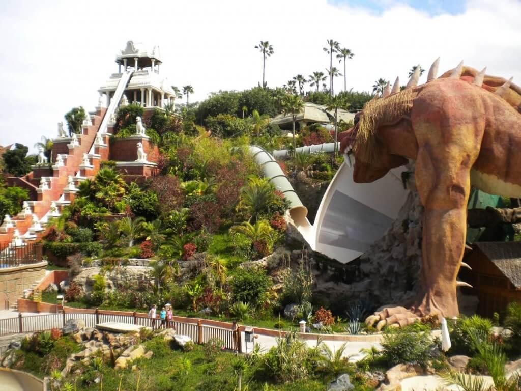 üdülés, Tenerife, Programok magyarul, Siam Park, A Világ Legjobb Aquaparkja, 4