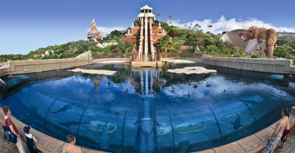 utazás repülővel, Tenerife, Programok magyarul, Siam Park, A Világ Legjobb Aquaparkja, 3