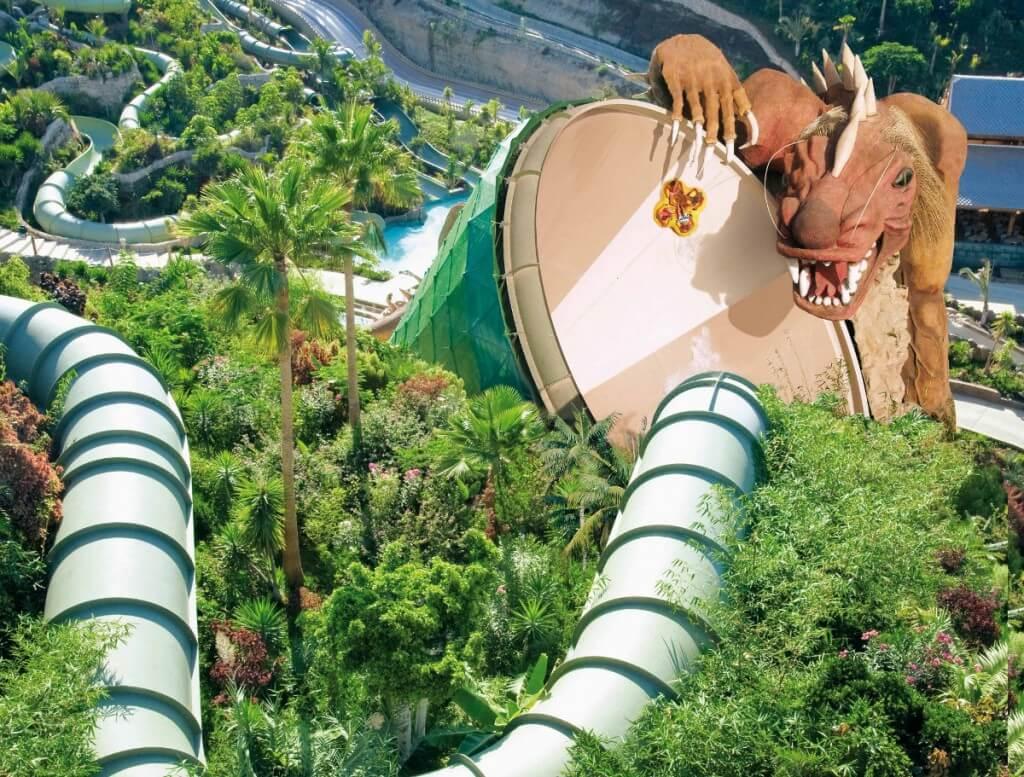 utazások, Tenerife, Programok magyarul, Siam Park, A Világ Legjobb Aquaparkja, 1