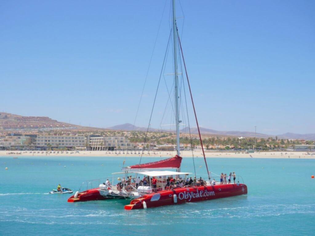 Kanári-szigetek utazás, Fuerteventura, Programok magyarul, Katamarán Kirándulás A Középső Régióban, 2
