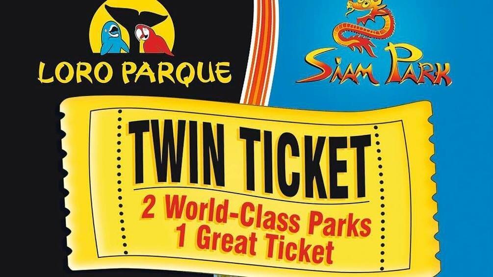 nyaralás all inclusive, Tenerife, Programok magyarul, Loro Park és Siam Park Twin Ticket, 0