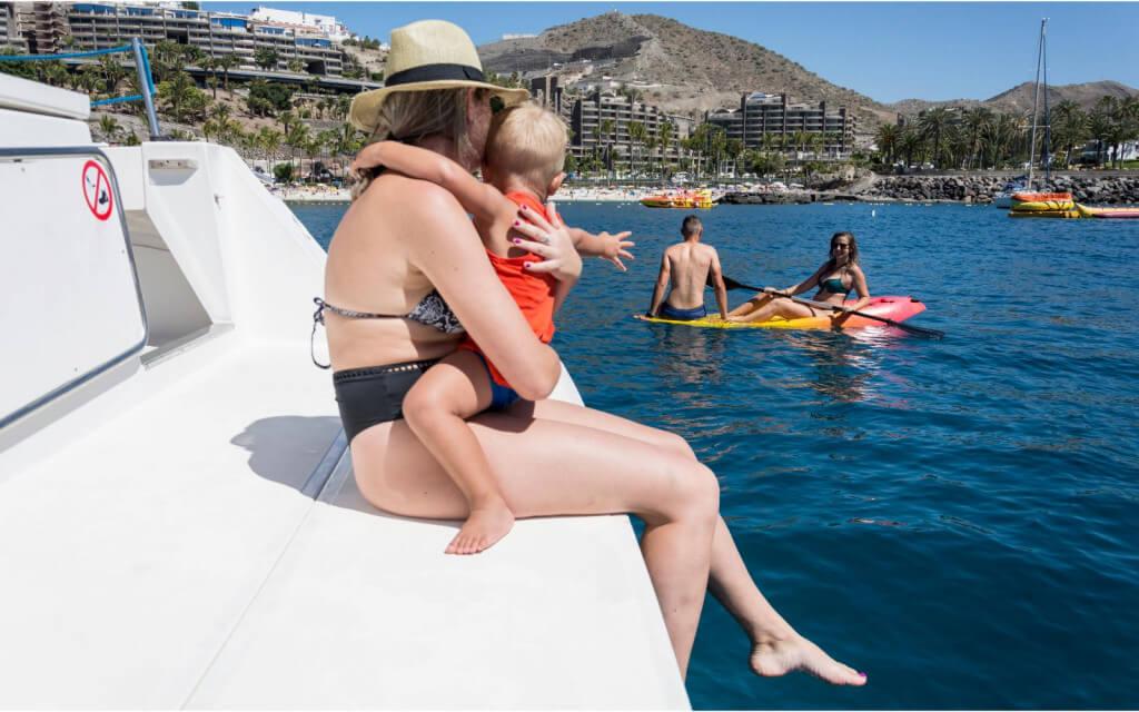 nyaralás olcsón, Gran Canaria, Programok magyarul, Luxus Katamarán Túra, 4