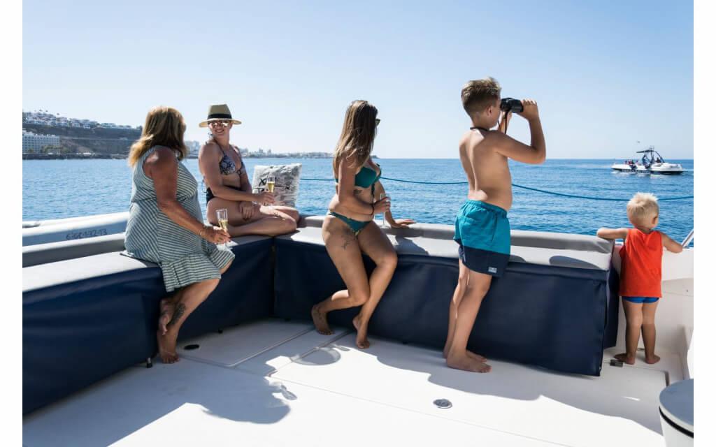 üdülés Kanári-szigetek, Gran Canaria, Programok magyarul, Luxus Katamarán Túra, 7