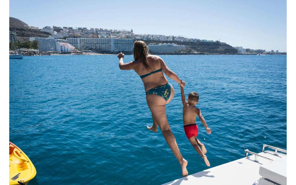 utazás repülővel, Gran Canaria, Programok magyarul, Luxus Katamarán Túra, 2