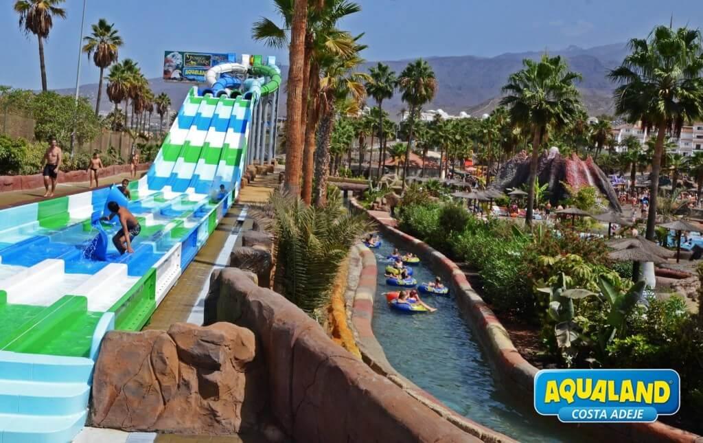 üdülés, Tenerife, Programok magyarul, Aqualand Belépő, 1
